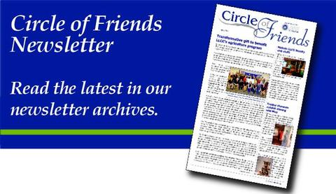 Circle of Friends Newsletter Archives
